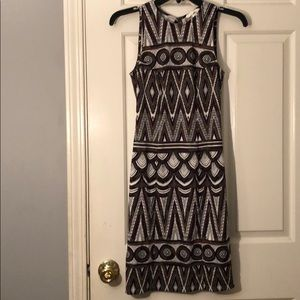 NWT Open back midi dress